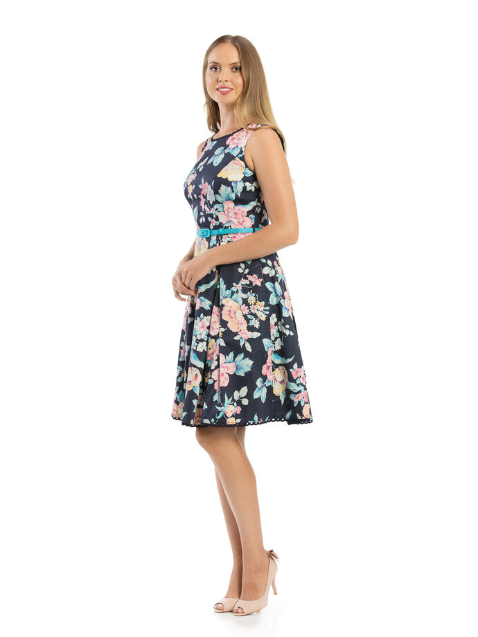 I Believe In Florals Dress
