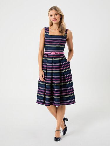 Mikayla Stripe Dress