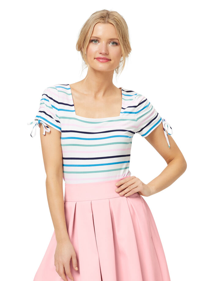 Amalfi Stripe Top