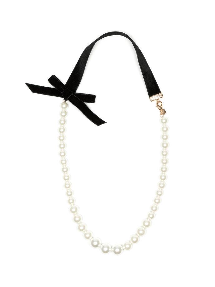 Velvet Bow Necklace