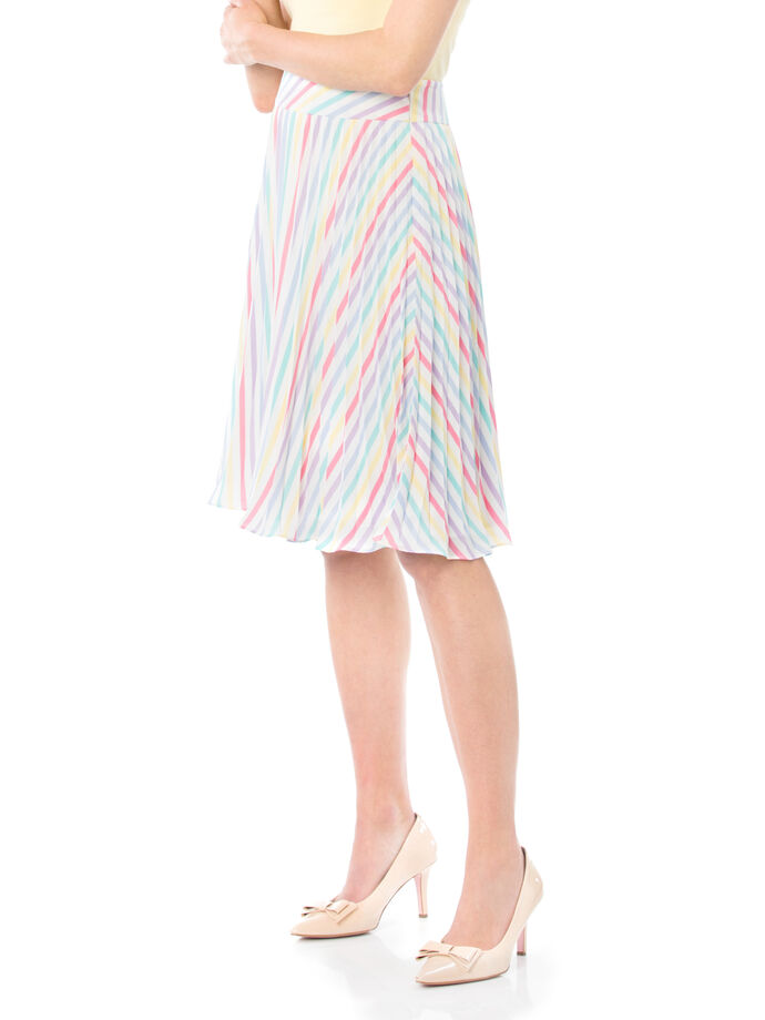 Bertie Stripe Skirt