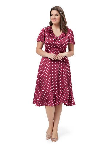 Alessia Spot Dress