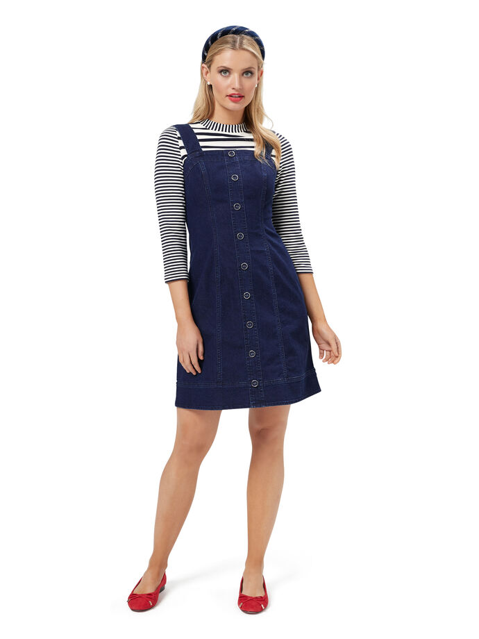 Miranda Denim Pinny Dress