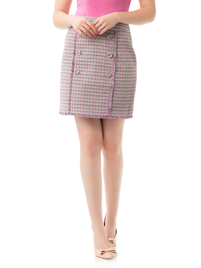 Connecticut Check Skirt