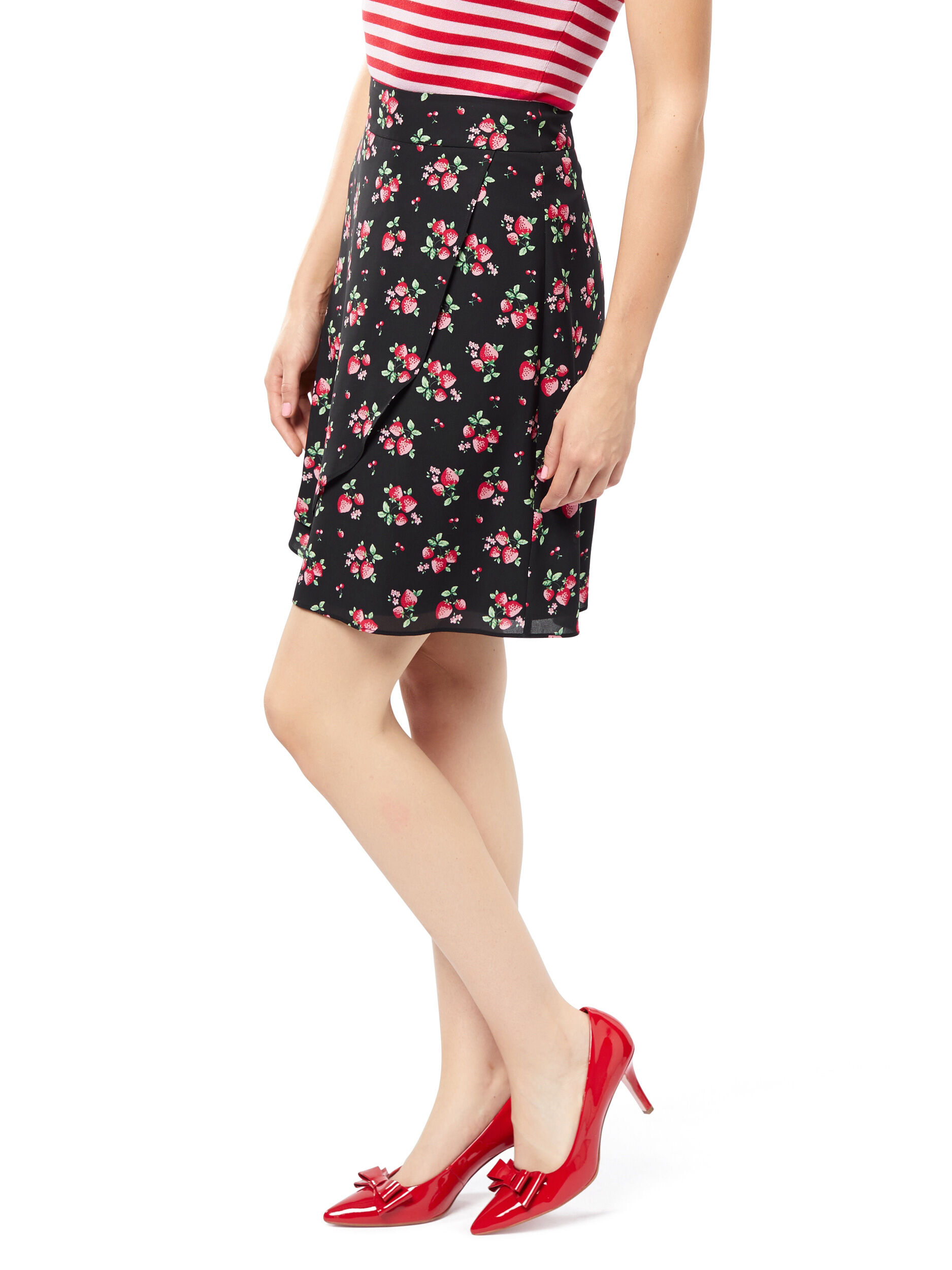 Strawberry Patch Skirt