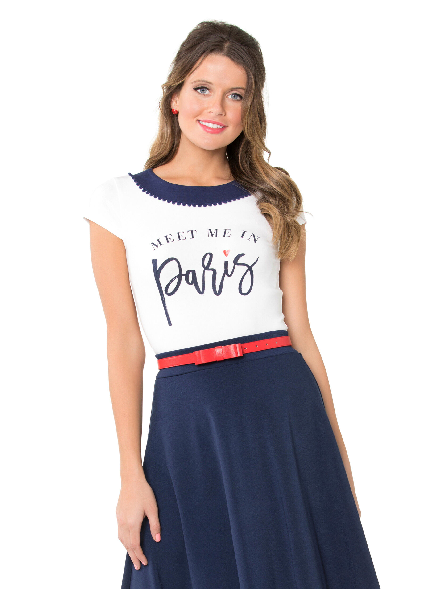 Meet Me In Paris Tee | Shop Tops Online from Review | Review Australia
