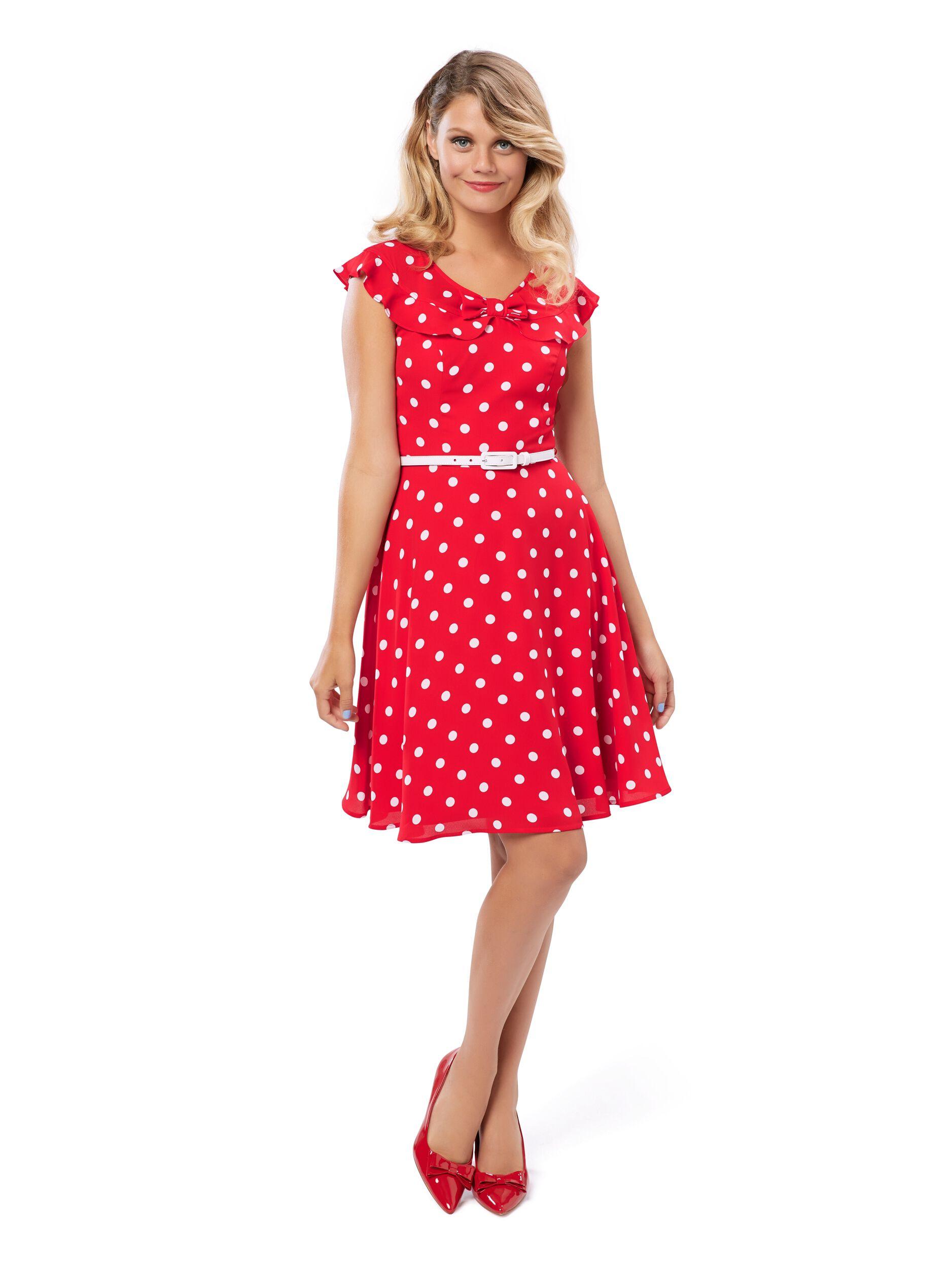 Valentine Spot Dress