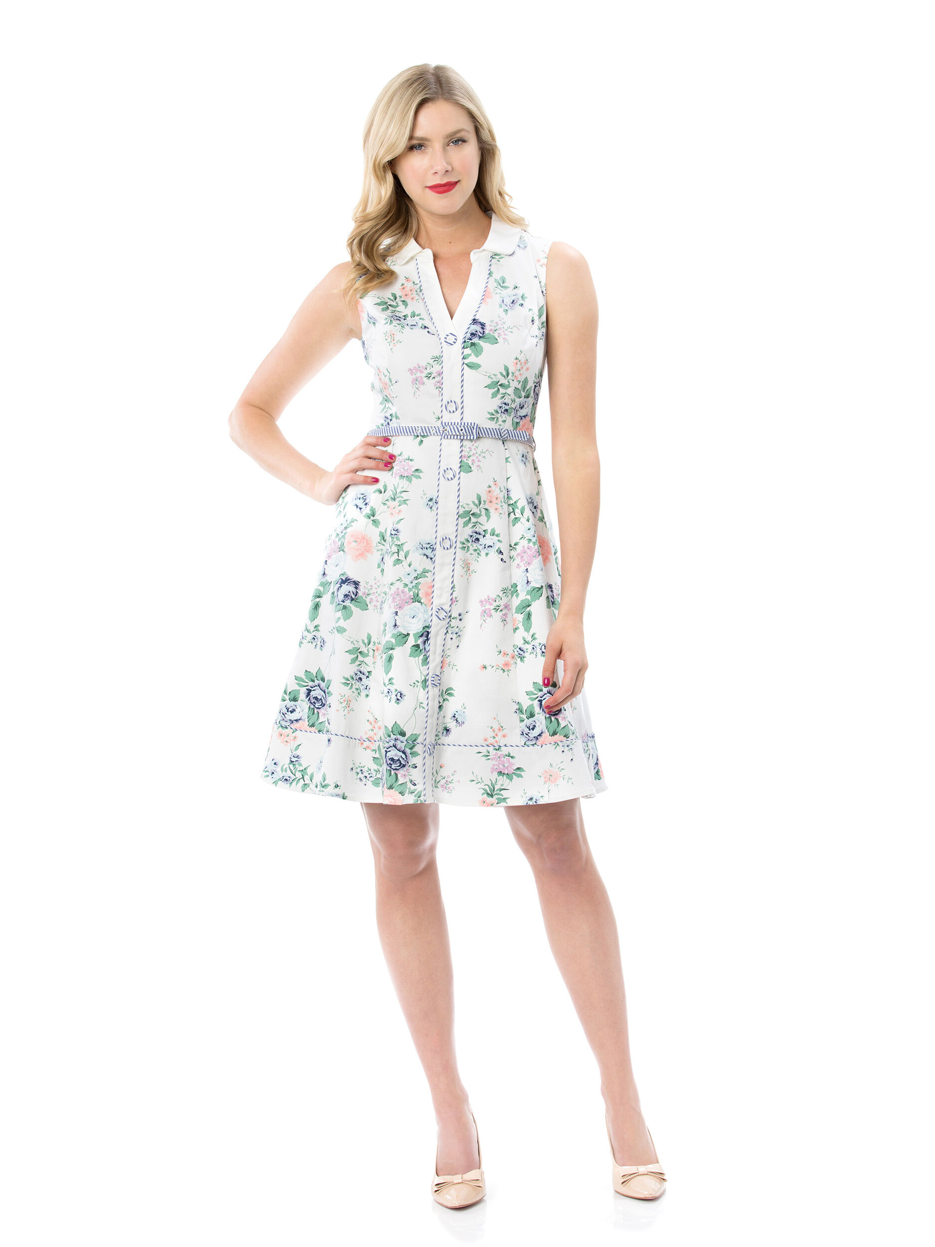 Sweet Melody Shirtdress