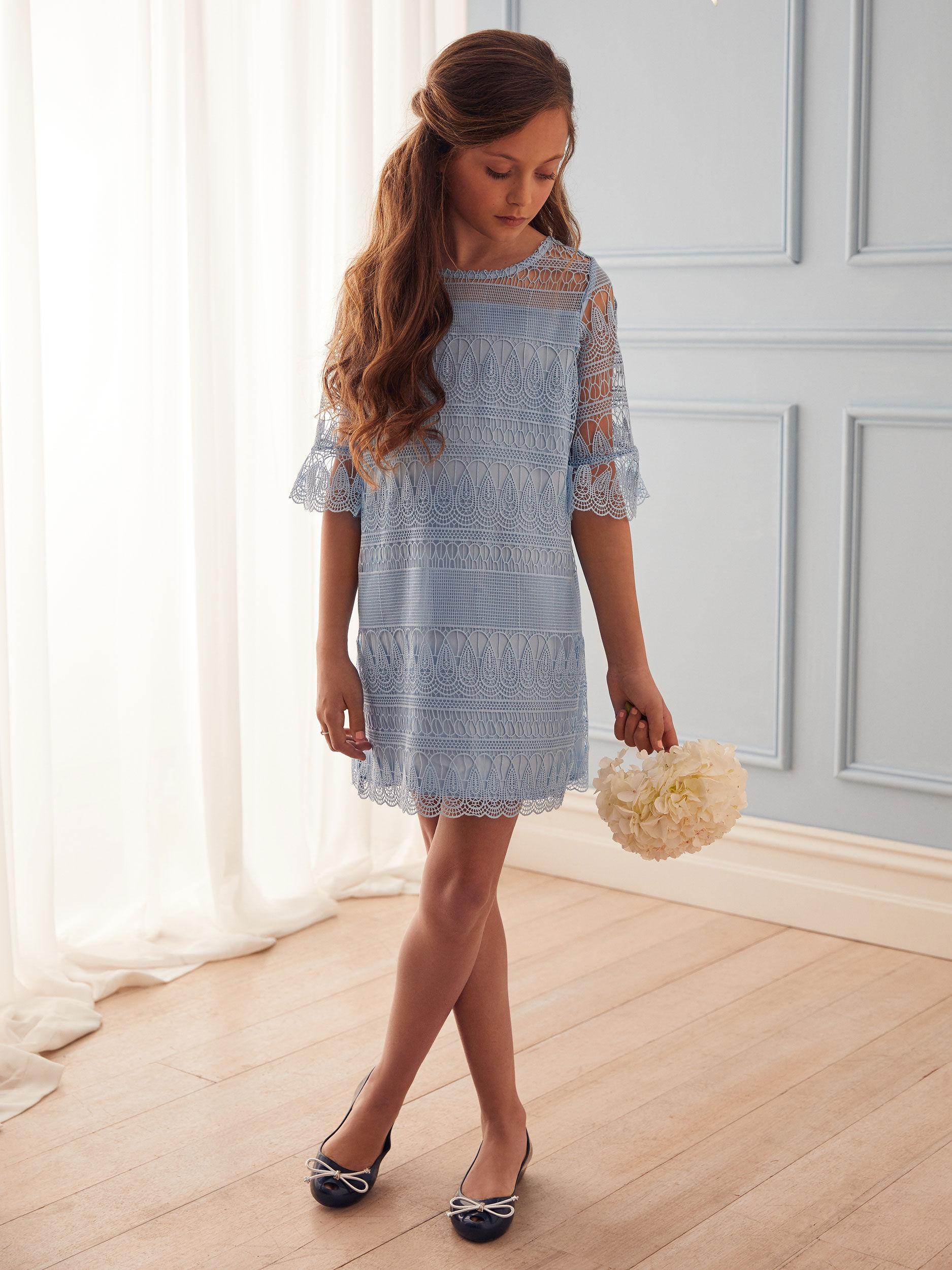 8 -14 Girls Lace Dress
