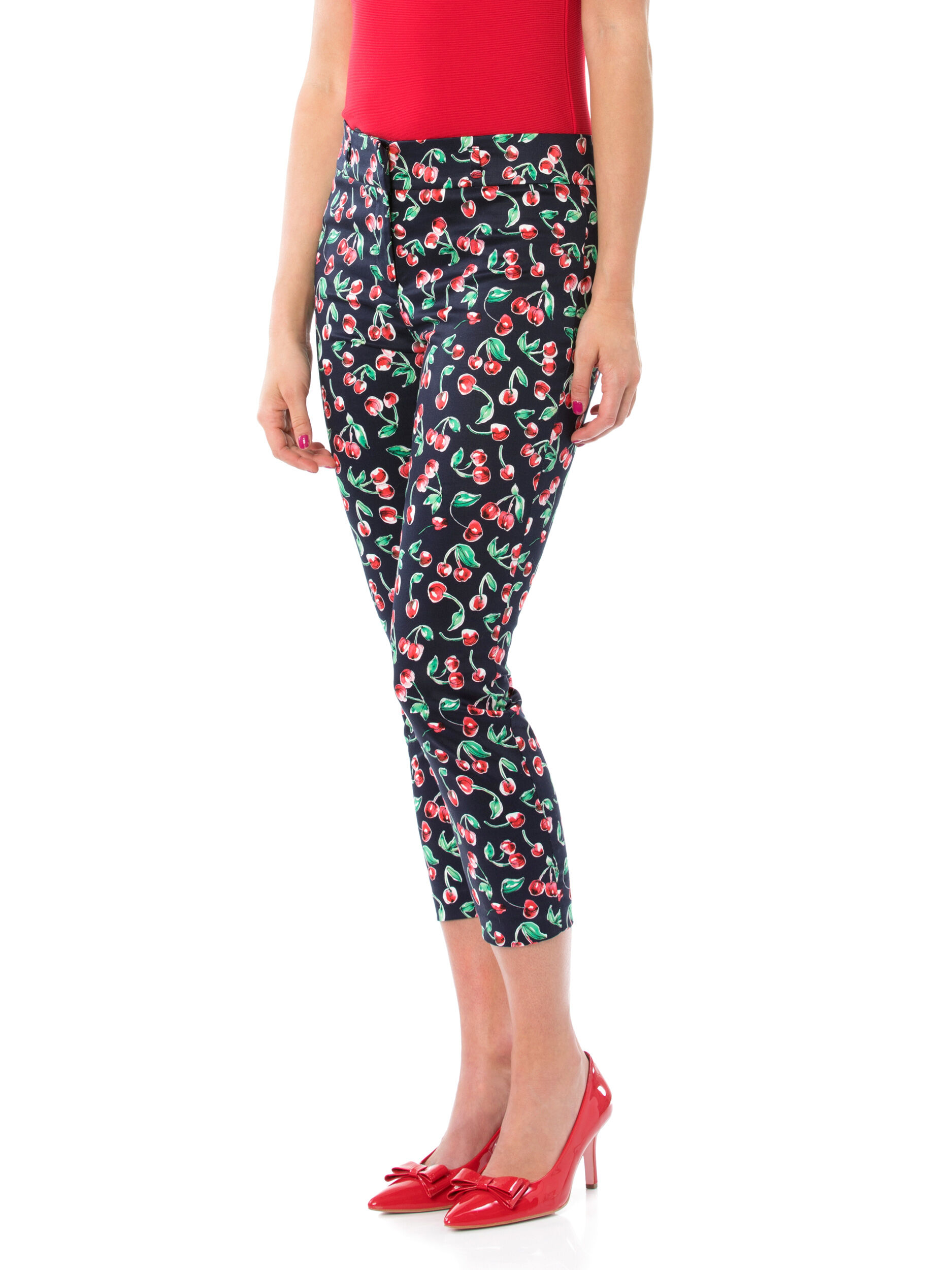 Cherry Delight Capri Pants