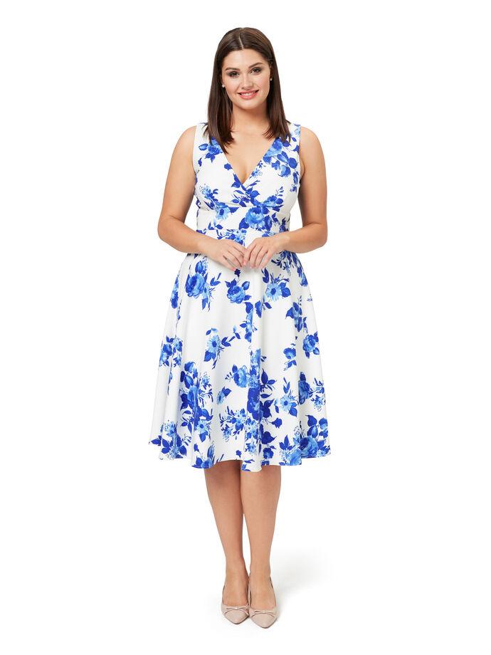 Sapphire Rose Dress