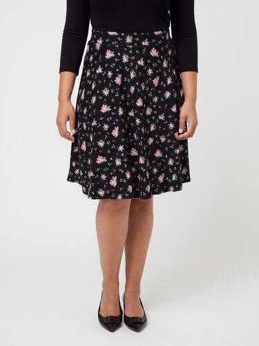 Homestead Floral Ponte Skirt