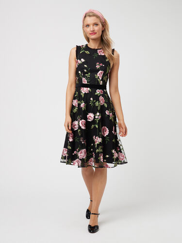 Winter Rose Dress
