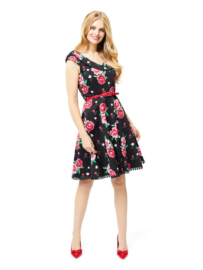 Ballerina Rose Prom Dress