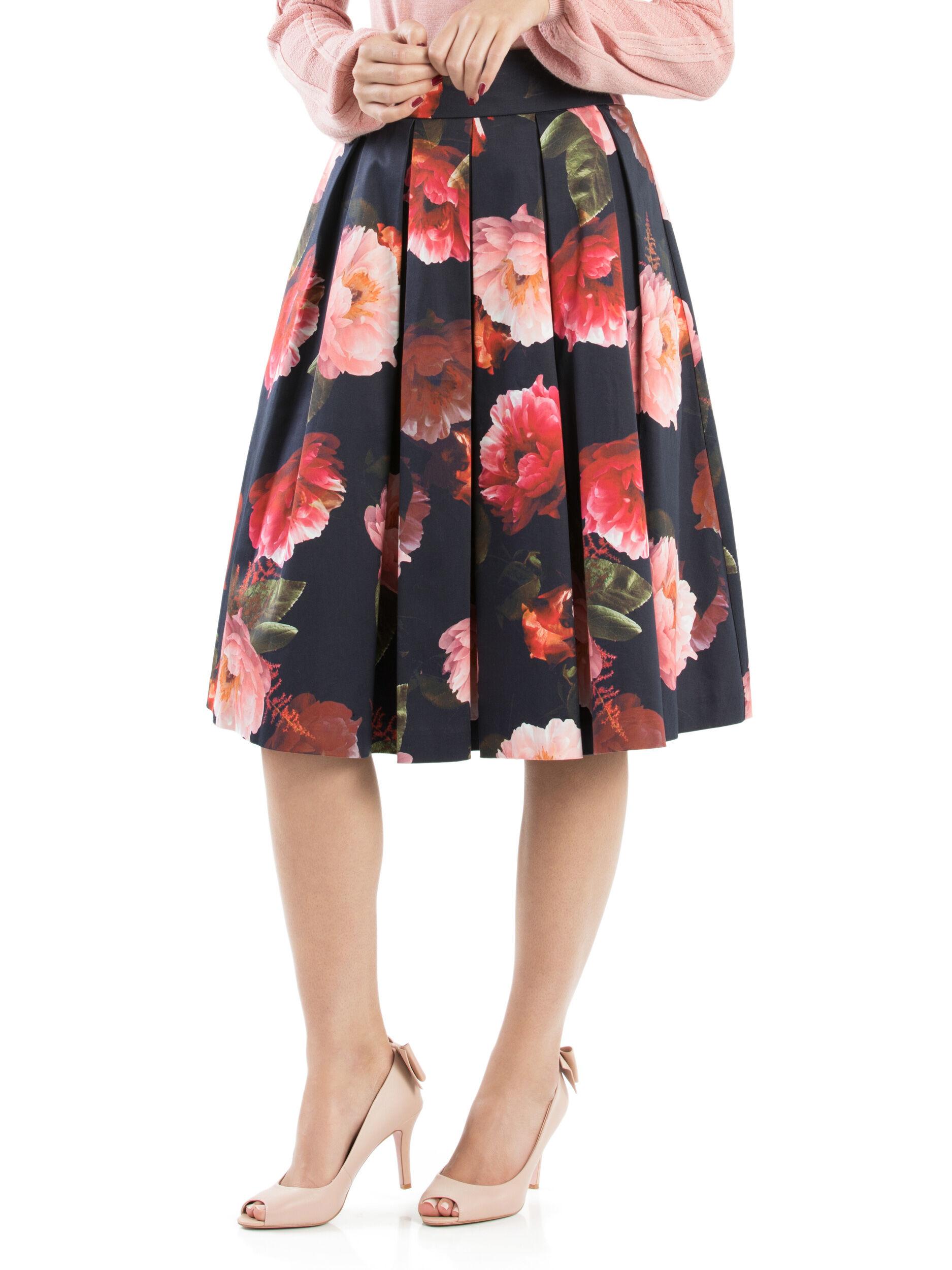 Mystic Floral Skirt