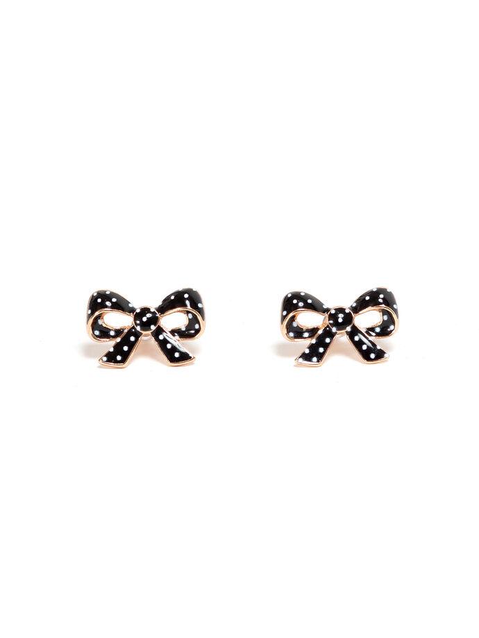 Trixie Bow Stud Earrings