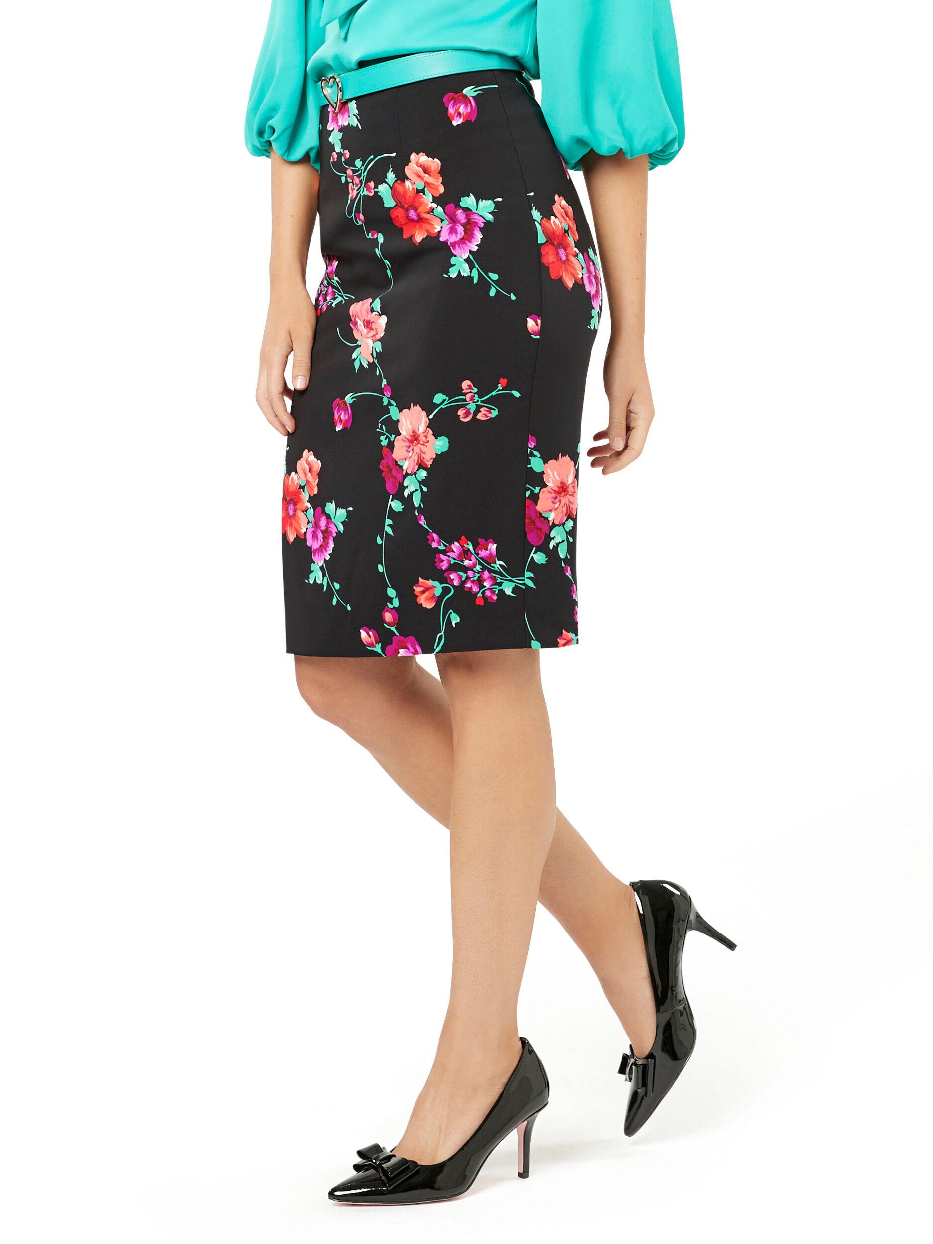 Hera Floral Skirt