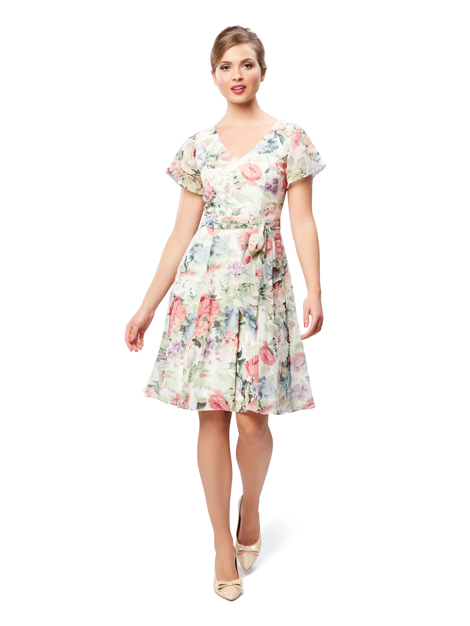 Plantation Floral Dress