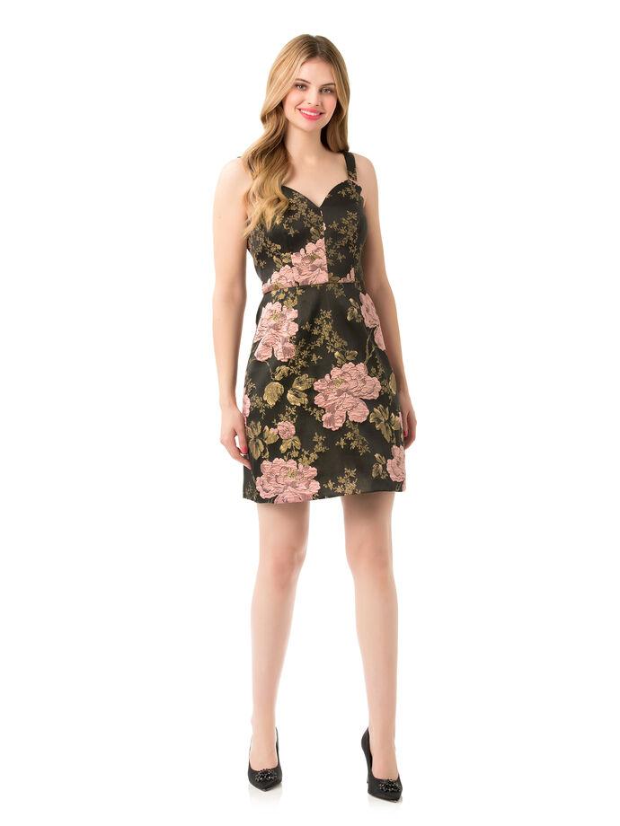 Midnight Lotus Dress
