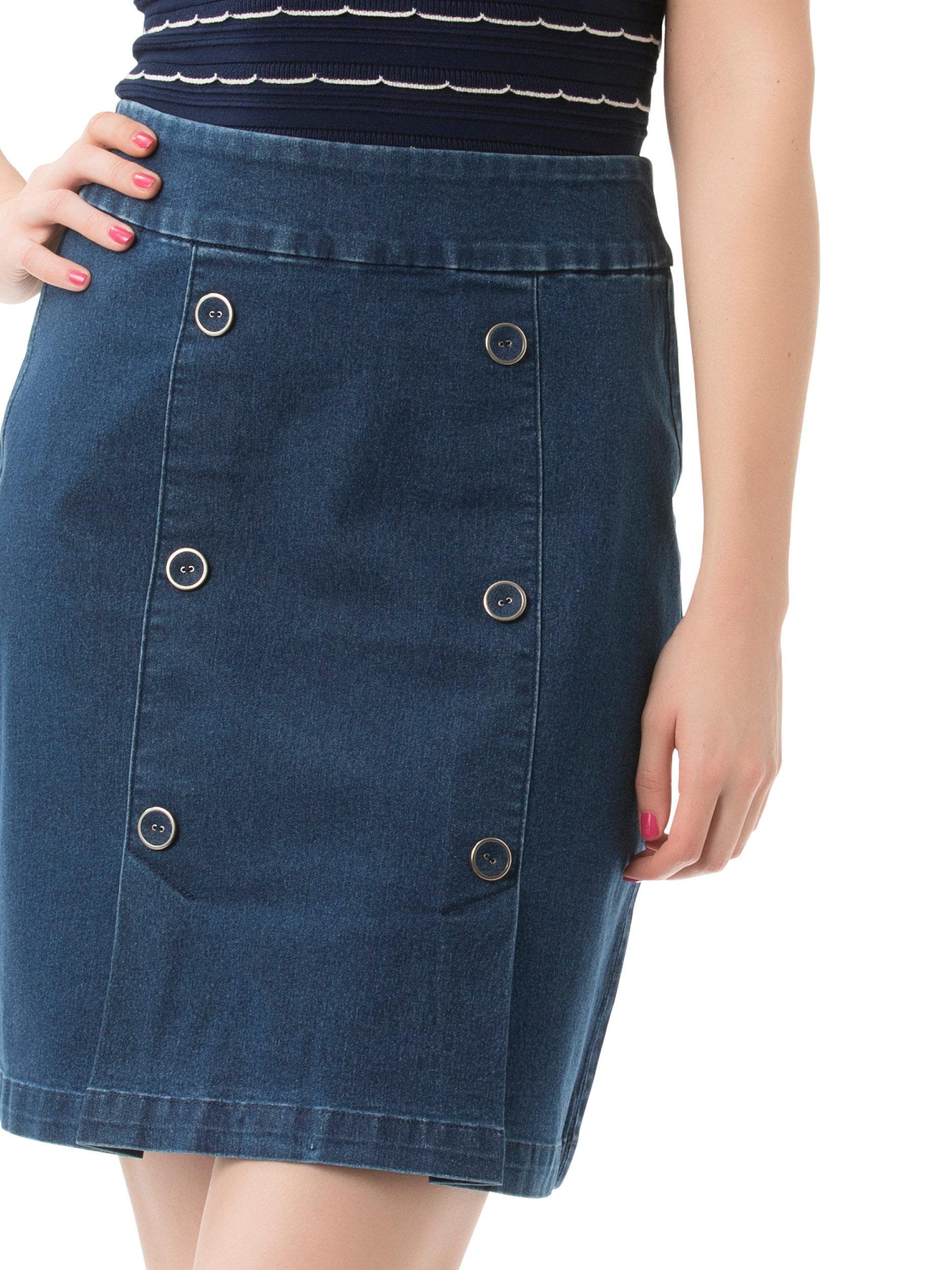 Rylie Denim Skirt
