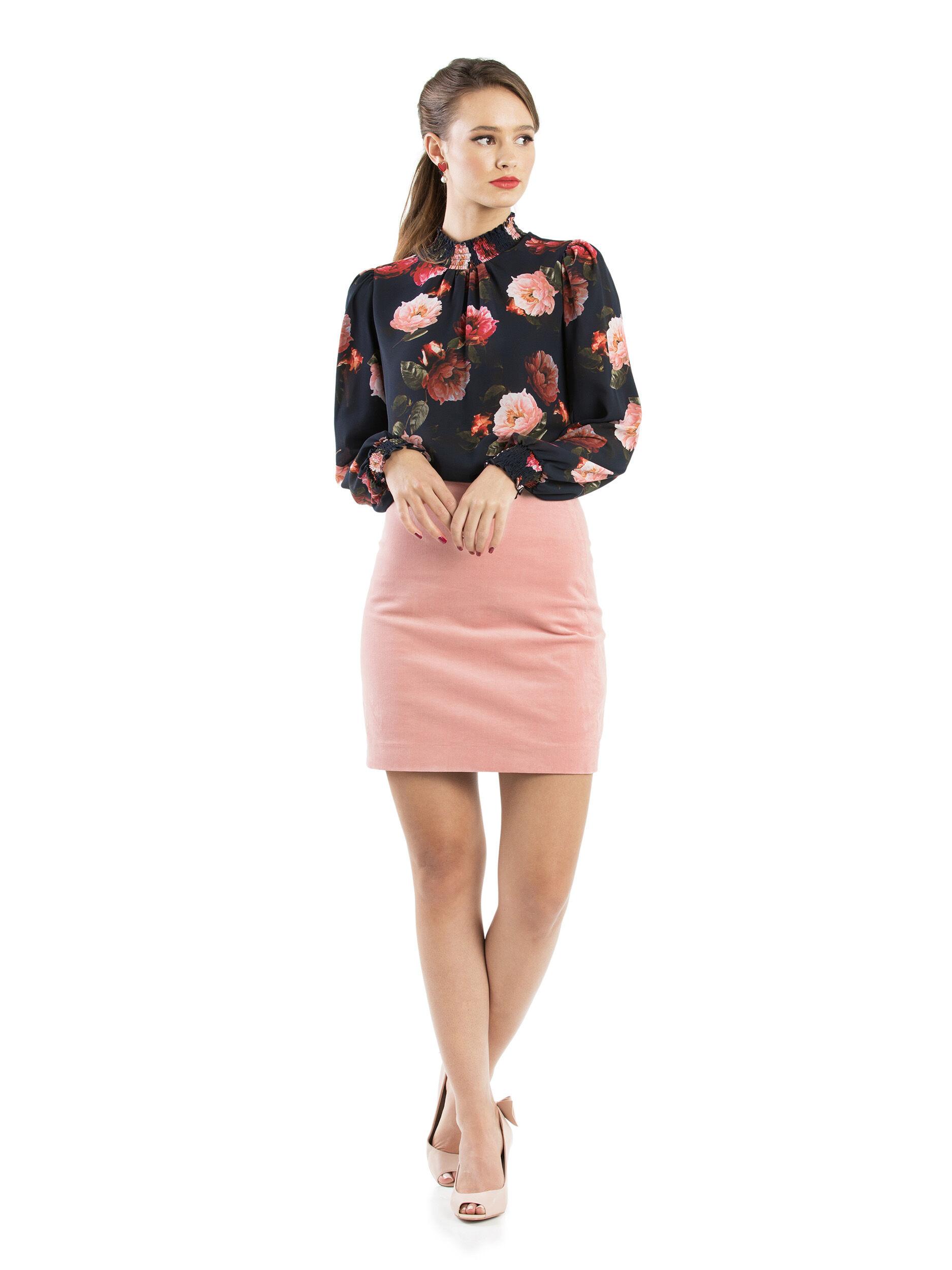 So Plush Mini Skirt