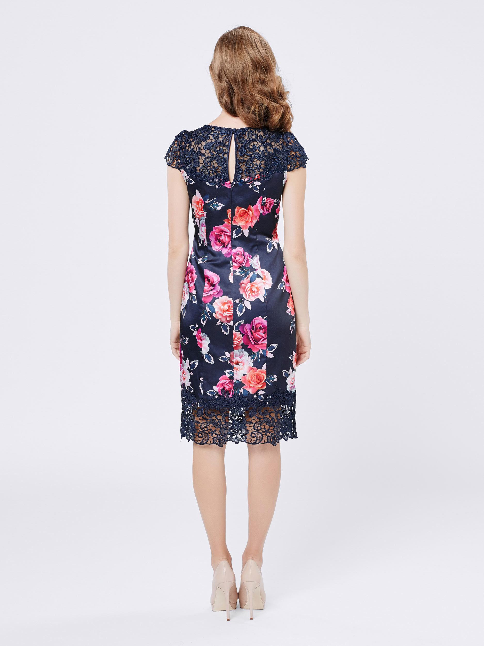 Midnight Rose Dress