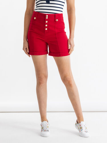 Button Me Up Twill Short