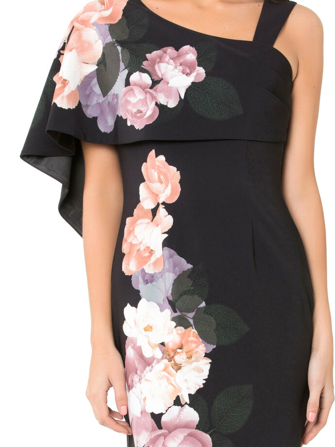 Black Iris Dress