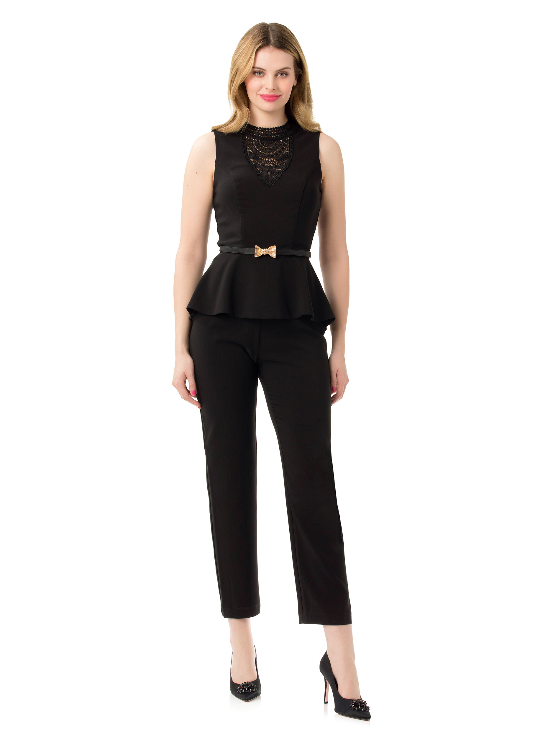 Fade To Black Jumpsuit