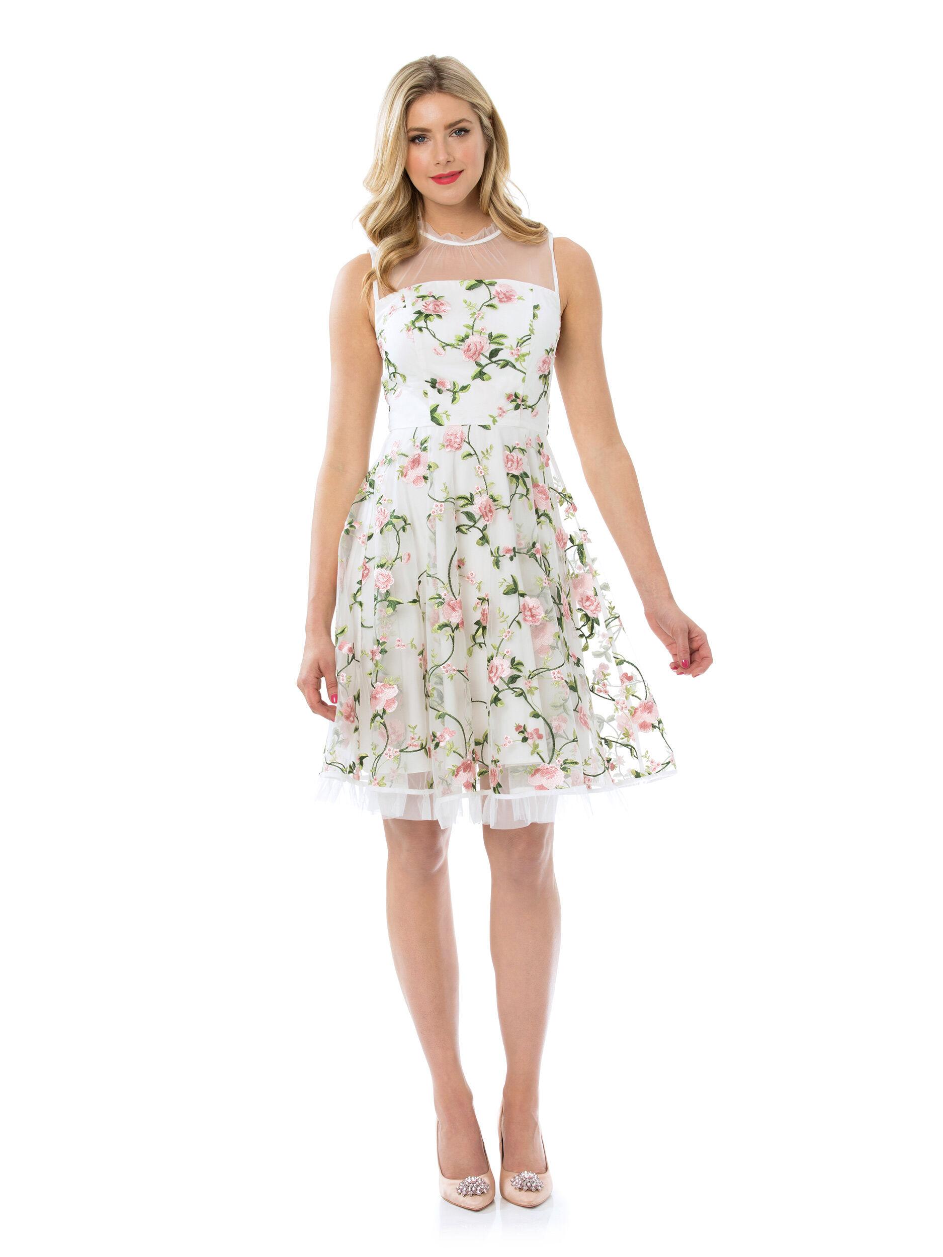 Heirloom Floral Dress