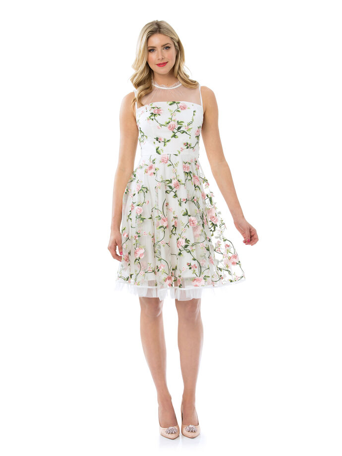 Heirloom Floral Dress