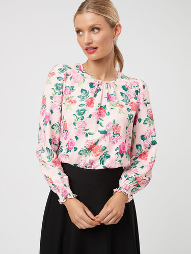 Margaux Floral Top