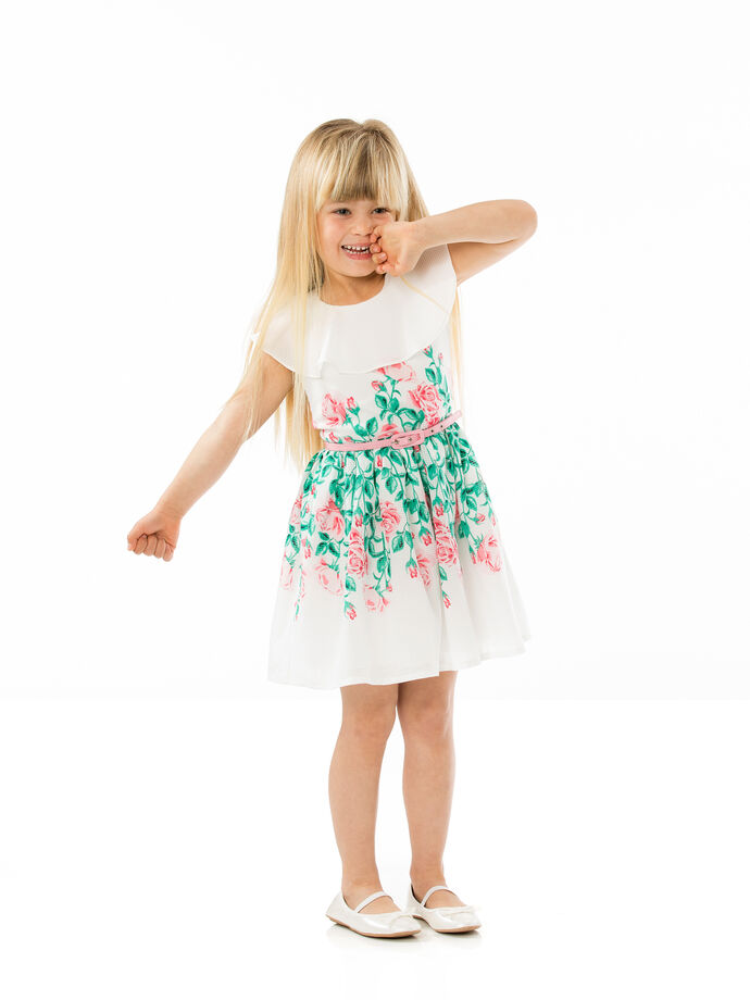 Girls Border Prom Dress