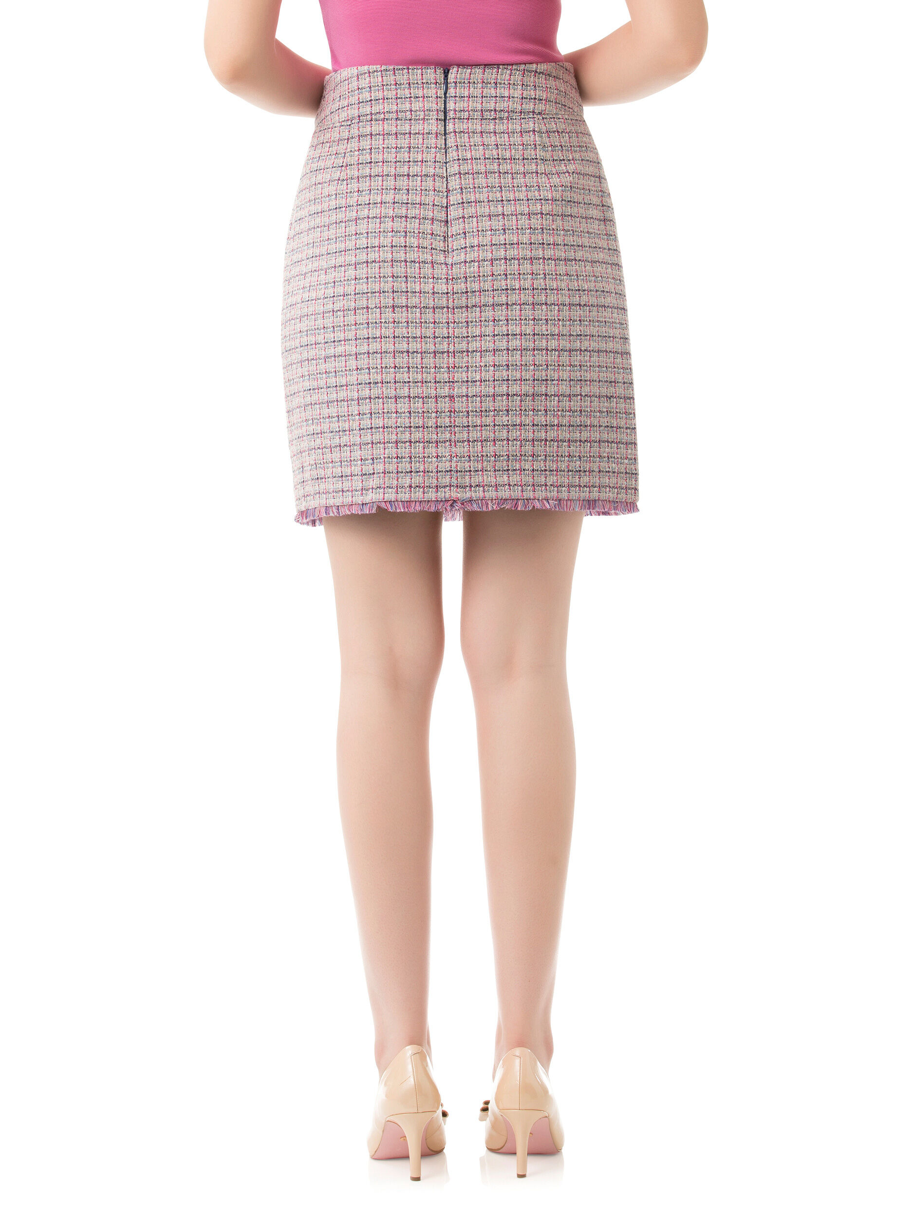 Connecticut Check Skirt